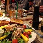 grilled chicken & West coast greens salad
