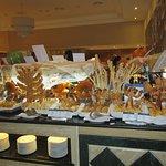 Le buffet le soir de l'Halloween...super beau