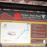 Parker Dam Scenic Road - Can Drive Across Dam, Parker, Arizona