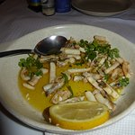 Razor clams...PS I had eaten some before remembering to take a photo!