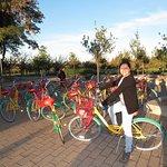 Una vueltica en las bicicletas de Googleplex
