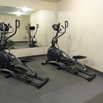 Fitness center elliptical machines