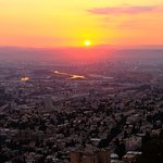 Sunrise over Haifa