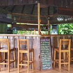 Cabana bar on the property