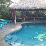 The pool and cabana
