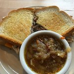 Turkey Berry Melt with Corn Beef and Cabbage Soup