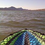 Kayaking on Lake Havasu