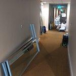 Room corridor mess