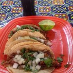 Tacos al pastor 👍😁