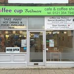 This is the Coffee Cup Boldmere Road - the correct shop front picture!