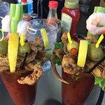 Softshell Crab & Shrimp Bloody Mary