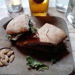 Colleran's Ham Hock Sandwich