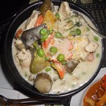 green curry seafood combo