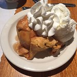 Apple dumpling a la mode