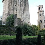 Blarney Castle as you approach from the side