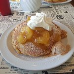 Delicious apple pancakes!