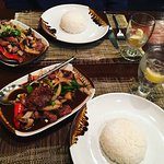 Always a favorite for authentic Thai in the area. Always fresh. Ask for any specials or dishes t