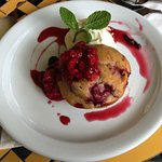 Hanging Rock Cafe - Raspberry Muffin -- Yum!