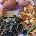 Jamaican breakfast at The Melting Pot