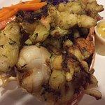 Grilled Lobster at the Melting Pot.