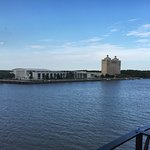 View of the Savannah River from the room balcony.