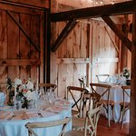 Barn Reception Site (Photo from Jesse Pafundi, Golden Hour Studios)