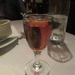 Glass of Amaretto, Sir Winston's Restaurant, Queen Mary, Long Beach, CA