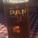 Beer on tap.
