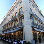 Hotel Santa Justa in der Fußgängerzone von Baixa