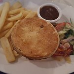 Beef pie was awesome. Real meat cooked to perfection and pastry was devine. Couldn't finish the
