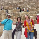 Enjoying the Pyramids