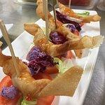 Croustillant crevettes