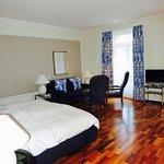 The room proper