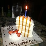 my Birthday Coconut Cake