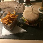 Burger mit Wildfleisch super lecker!