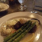 Tournedos of Beef and South African Lobster with Bearnaise Sauce