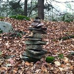 Cairn that we added a stone to….