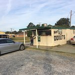 Very good.  Mobile home turned donut shop.