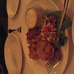 Lobster + crab cakes + steak oscar