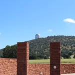 Observatory as seen from the Frank N Bash Visitors Center