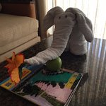 elephant left for daughter in room