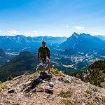 Top of the Ridge Walk section overlooking Banff