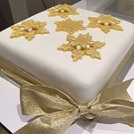 Our beautiful handmade Christmas cake