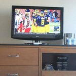 TV, Coffee Maker Unit, Drawers, DoubleTree, Hilton Hotel, San Pedro, Los Angeles, Ca