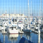 Marina Room From View, DoubleTree, Hilton Hotel, San Pedro, Los Angeles, Ca