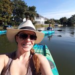 Kayaking down the Bayou