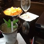 A Ginger Mint Julep at the Polo Club Lounge at Windsor Court in New Orleans...yummmmmm