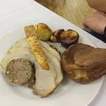 Delicious roast dinner at The Saltings