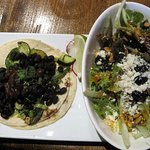 Taco and Salad