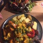 Curry-Kürbis-Gulasch mit Kartoffeln